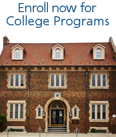 Enroll now for College Programs